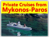 Private One-Day Cruises from Mykonos or Paros