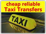 Low cost & reliable Taxi transfers worldwide